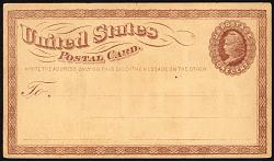 1c Liberty postal card