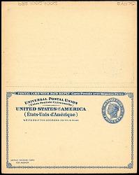 Postal Reply Card