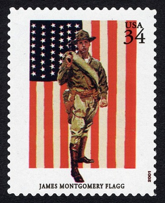 34c Marine Corps Poster single