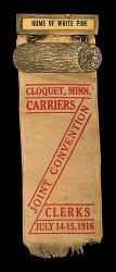 Joint Convention of Postal Carriers and Clerks Convention Badge