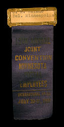 Convention badge from Joint Convention of Minnesota postal employees
