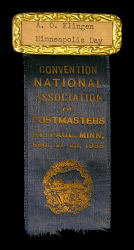 Badge for NAPUS convention