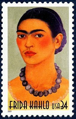 34c Frida Kahlo single