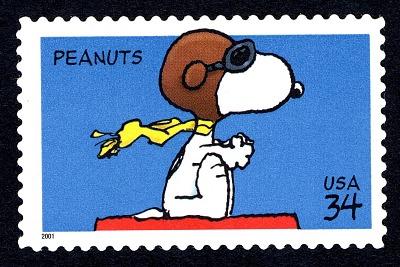 34c Snoopy single
