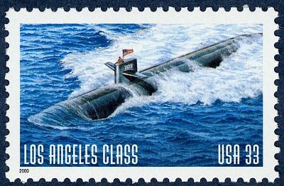 33c Los Angeles Class submarine single