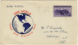 World War II Patriotic cover