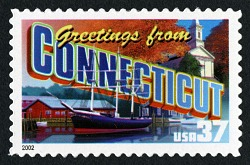 34c Connecticut single