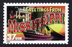 37c Mississippi single