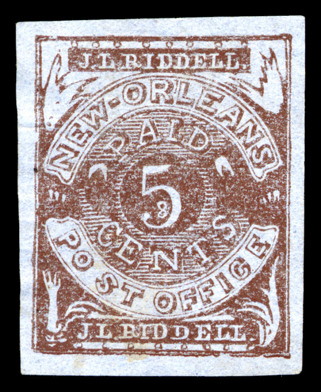 Image for New Orleans, Louisiana, postmaster provisional forgery