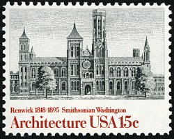 15c Smithsonian Institution single