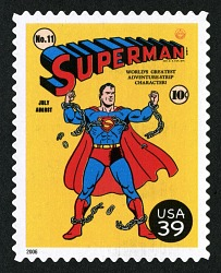 39c Cover of Superman single