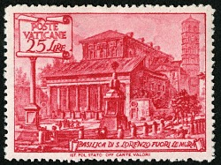 25 lire Basilica of St. Lawrence single