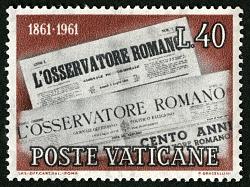 40 lire 1861 an d1961 Mastheads single