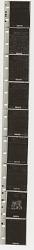 V-Mail microfilm strip