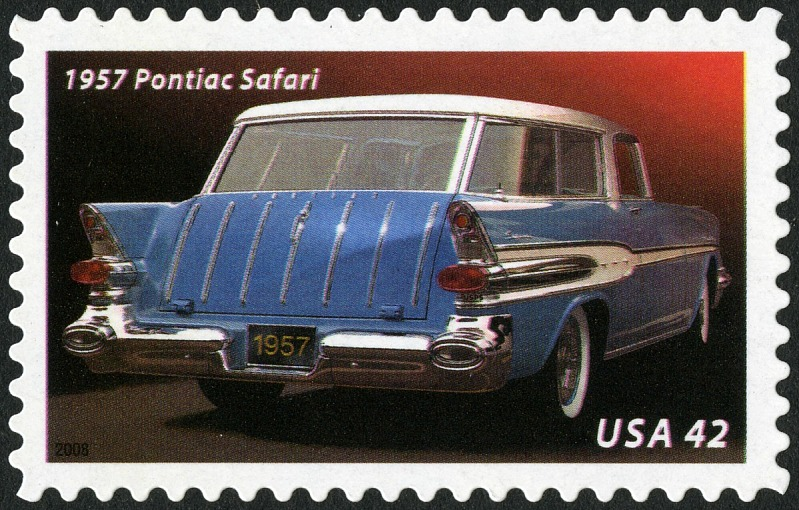 Image for 42c 1957 Pontiac Safari single
