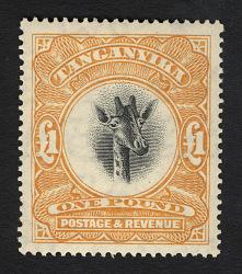 £1 Giraffe single