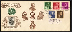 10c American Inventors Alexander Graham Bell first day cover