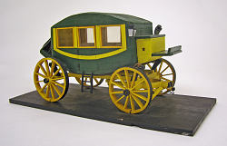 Early nineteenth century stagecoach