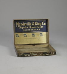 Seed Box, Mandeville & King Co.