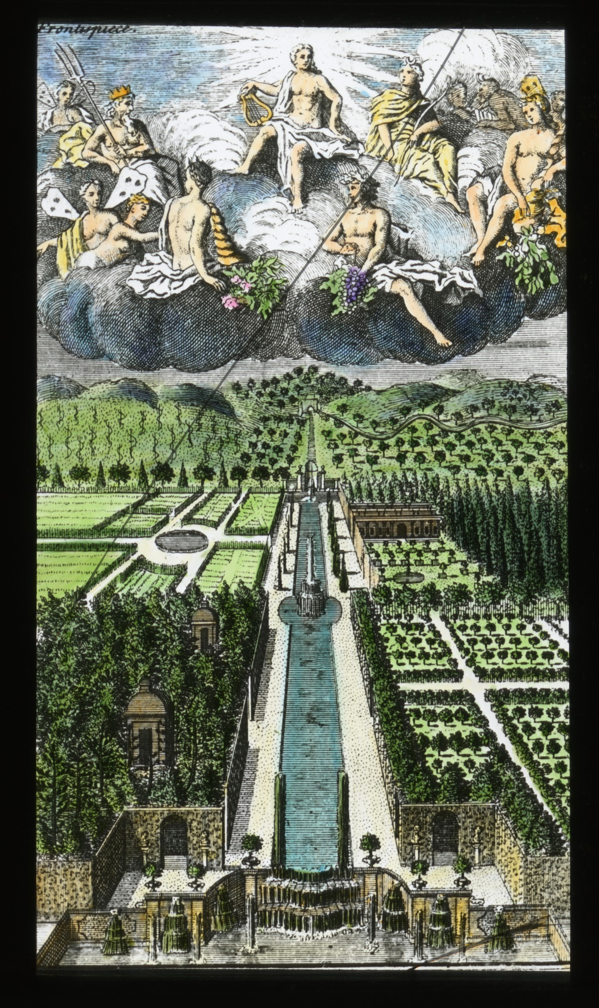 Frontispiece from Philip Miller, The Gardener's Dictionary (1731)