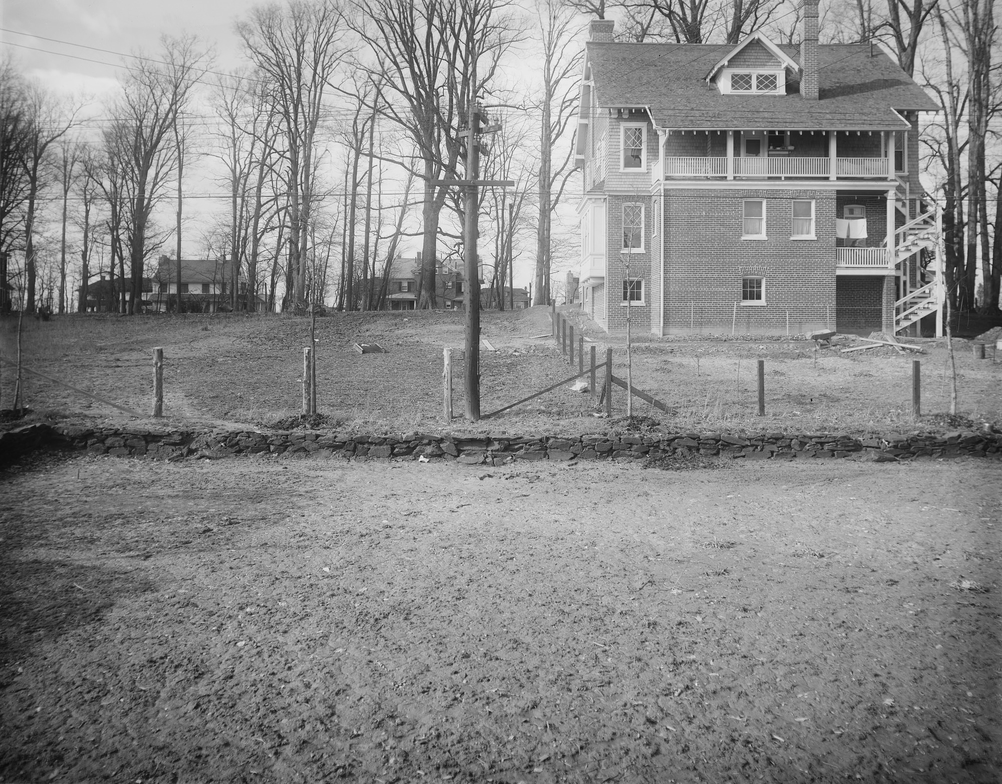 [Ogilby Garden]: the back of the property and an adjacent house.
