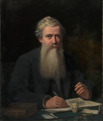 Portrait of Elliot Coues