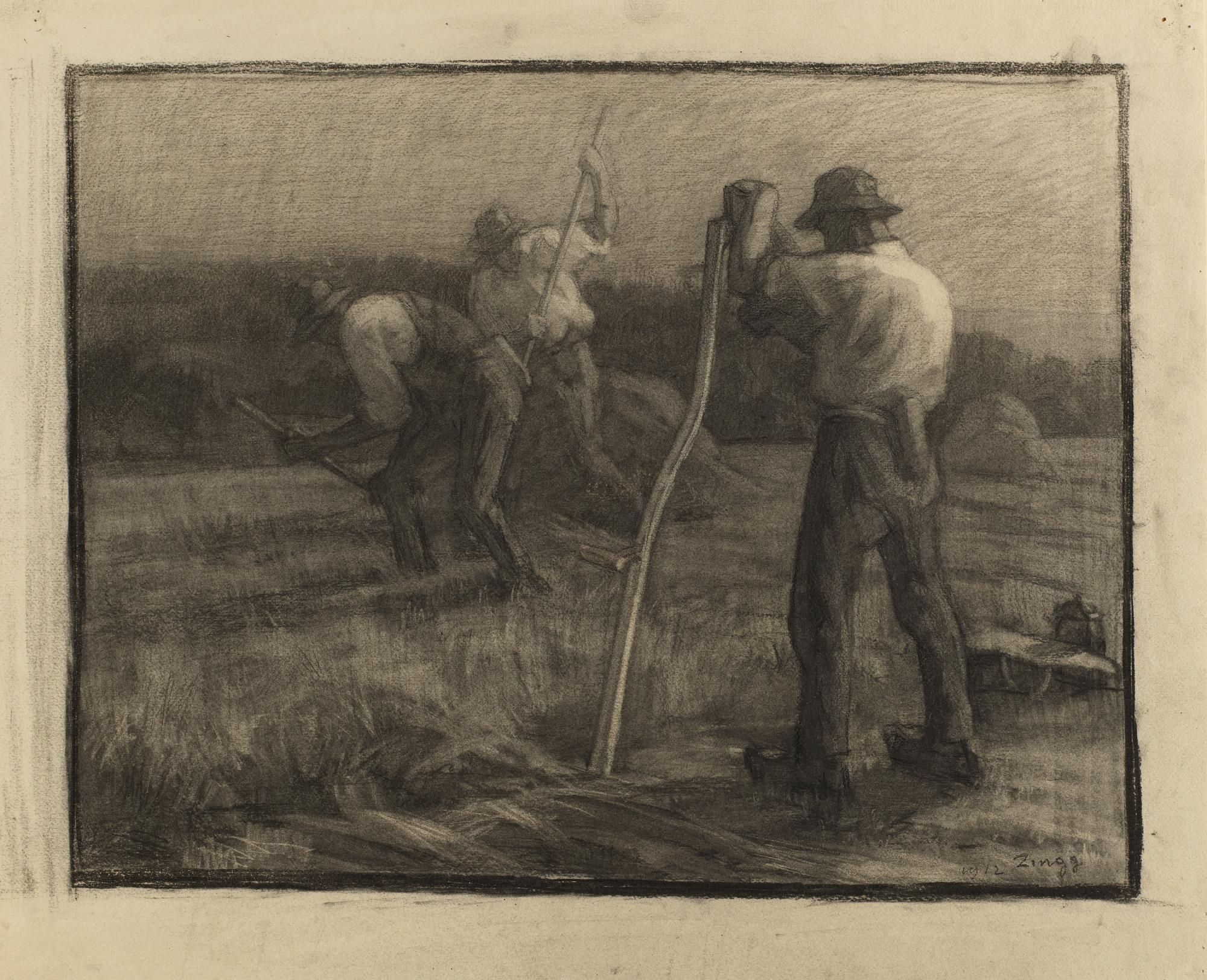 images for Harvest Scene
