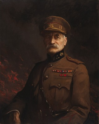 General Georges Leman, Commander of the Fortified Town of Liege