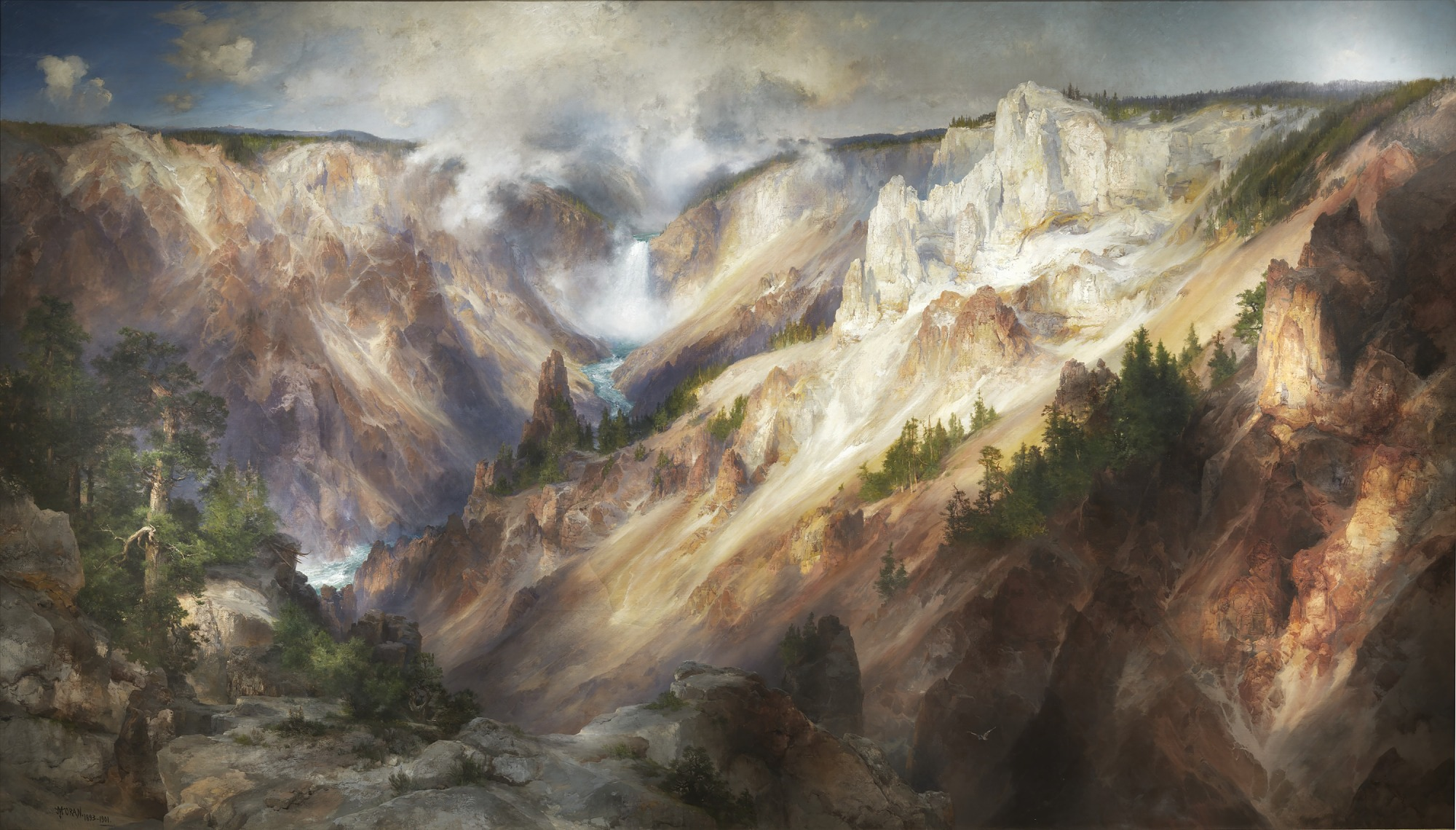 images for The Grand Canyon of the Yellowstone