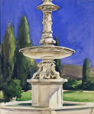 Marble Fountain in Italy