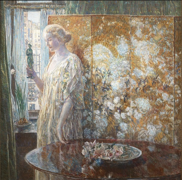 Gender Inequality and Identity: Childe Hassam's Tanagra (The Builders, New York) 1918