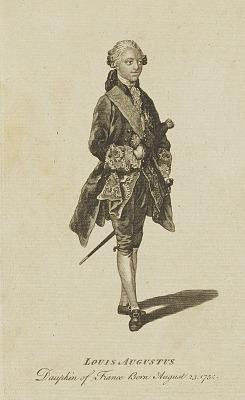 Louis Augustus, Dauphin de France