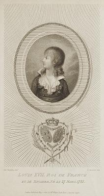 Louis XVII, Roi de France