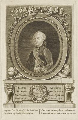 Louis Auguste, Dauphin de France