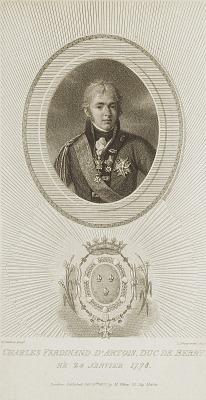 Charles Ferdinand S'Artois, Duc de Berry