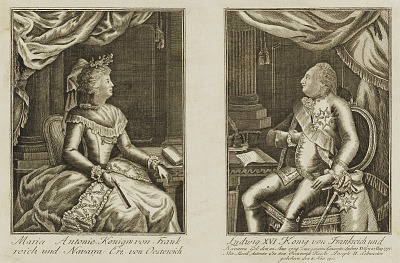 Maria Antonie and Ludwig XVI