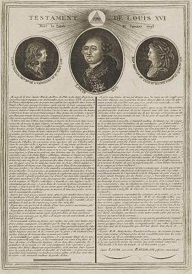 Testament de Louis XVI