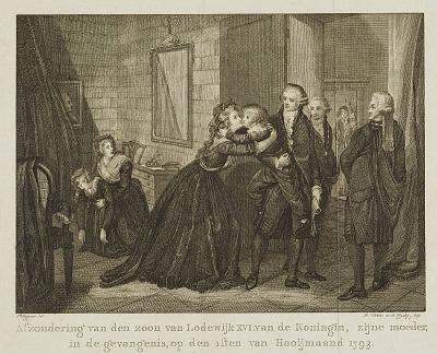 Marie Antoinette's Farewell to Her Son