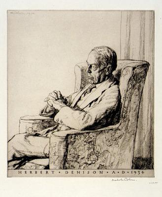 Portrait of Herbert Dennison