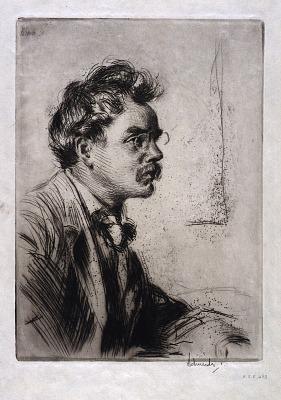 Portrait of B.J.O. Nordfelt