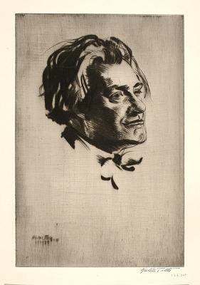 Portrait of James McBey
