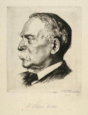 Portrait of N. Clifford Ricker
