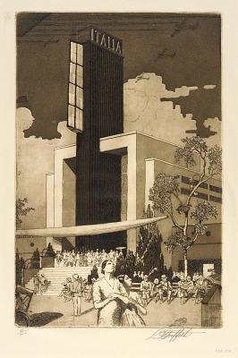 Italian Building, Chicago Fair, 1933