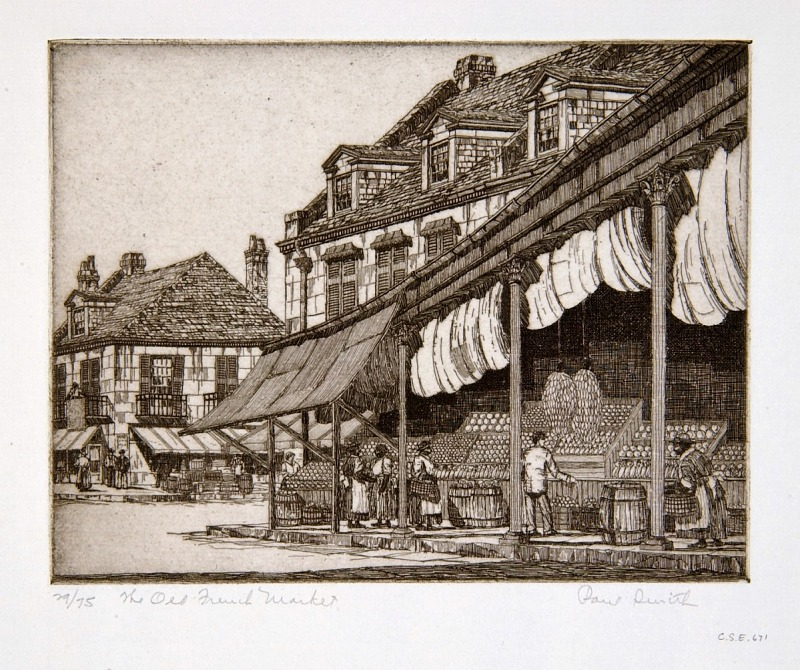 Image for The Old Fruit Market, New Orleans