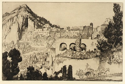 View of the Town, Capri