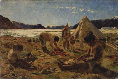 An Innuit Encampment