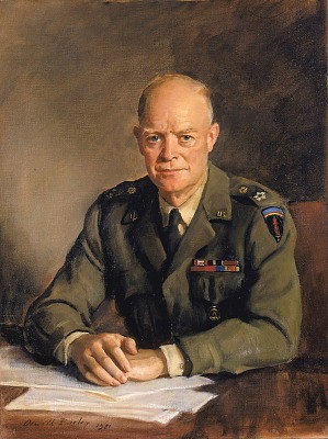 General Dwight D. Eisenhower, Supreme Commander of Allied Powers in Europe, 1949