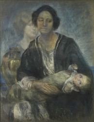 Italian Woman with Child