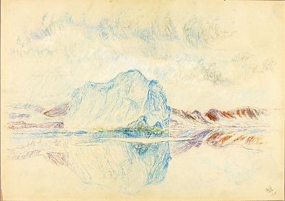 Arctic Iceberg--Spring '94, Perry Greenland
