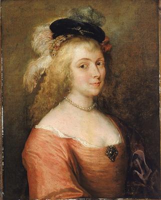 Portrait of Rubens' Wife